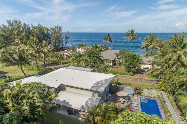 Hawaii Life Rentals presents Uli Kai-Wonderful Ocean Views w/Pool-Sleeps 8 - Uli Kai - The Deep Blue Sea
