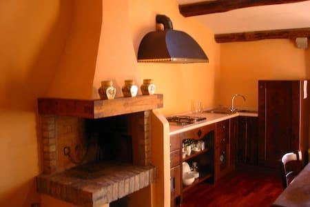 Accogliente  apt 4 pax  con camino - Castelnuovo Berardenga - Huoneisto