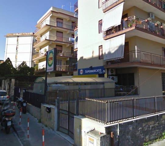 Private room, shared bathroom - Gravina di Catania - Apartment