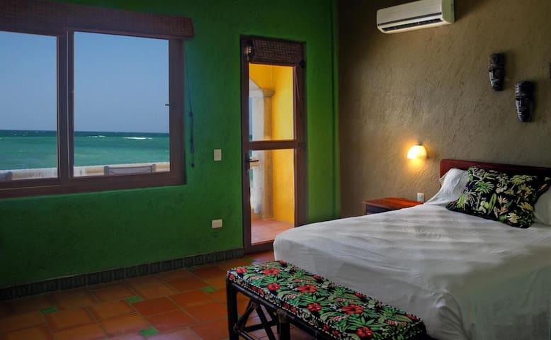 Beautiful Costa Maya Jungle Bedroom