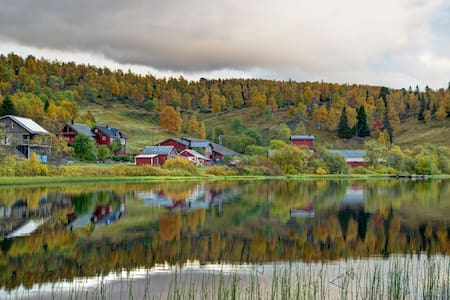 Mountain farm in North Norway