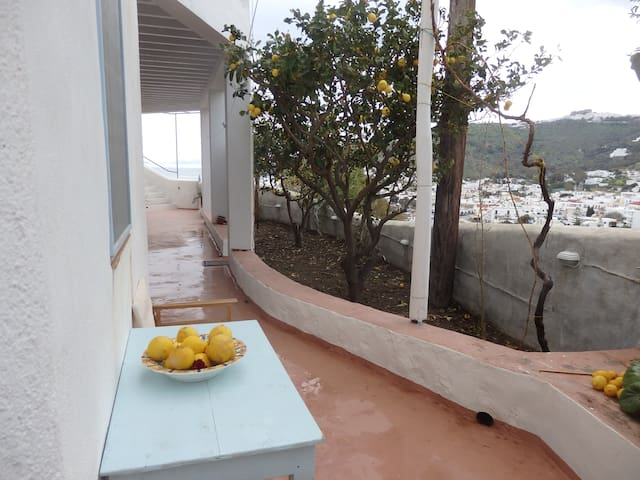 Room with breathtaking view. - Patmos - House