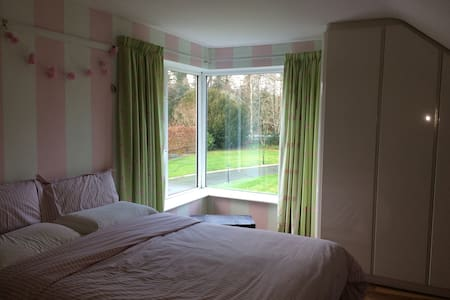 Large comfortable double room, breakfast available - Meath - Rumah