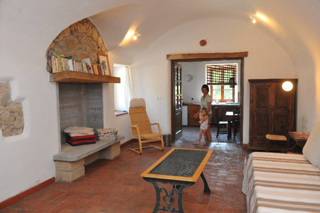 Bedroom für 2(+2)Personen im Erdgeschoss
