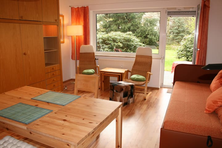 Essen City quiet flat with terrace and garden - Essen - Apartamento
