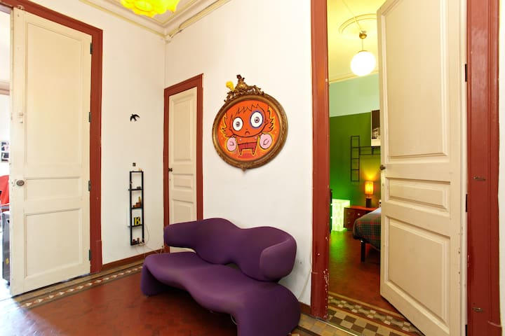 Nice room near Paseo de Gracia