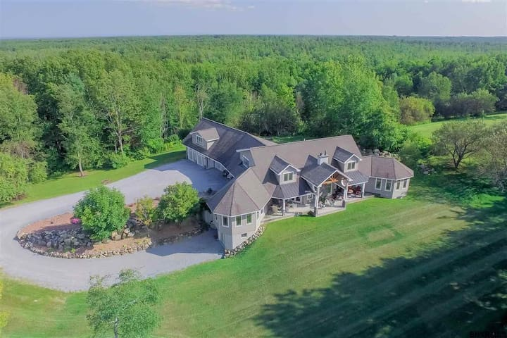 Saratoga Springs home with a View