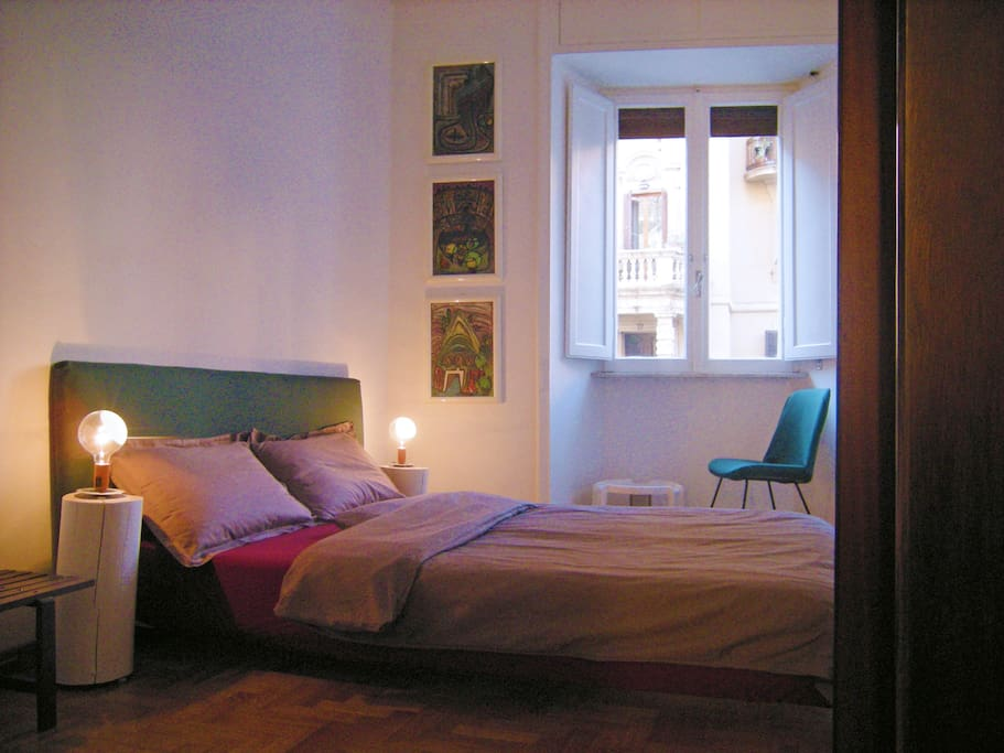 Design apartment 400 meters from the colosseum for Apartment design rome