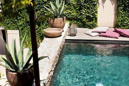 Petit paradis avec piscine Provence - L'Isle-sur-la-Sorgue - Rumah