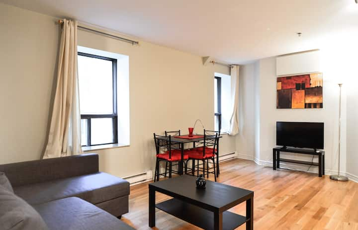 SPACIOUS APARTMENT DOWNTOWN 538pi2 - GUY CONCORDIA