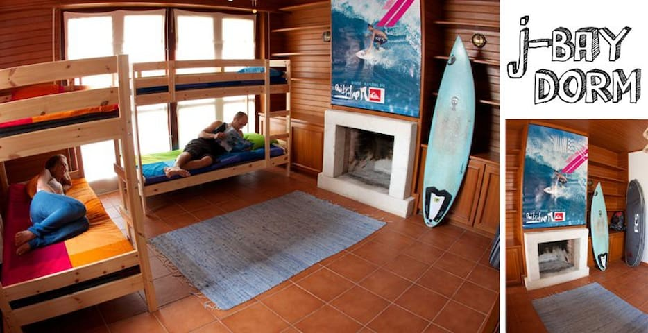 Ticket2surf-Beach Hostel-Dorm rooms