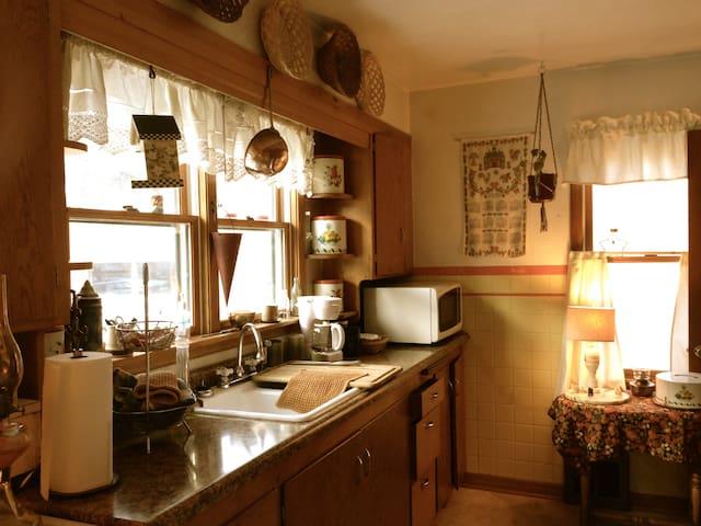 Main floor Suite kitchen