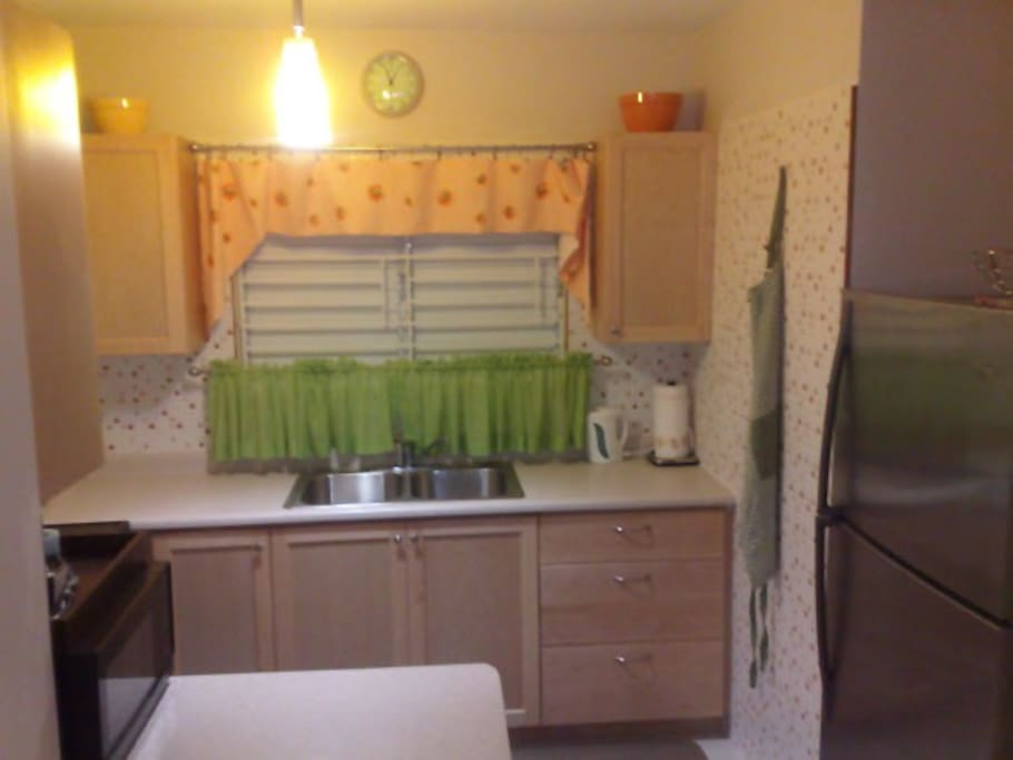 Beautifully equipped kitchen