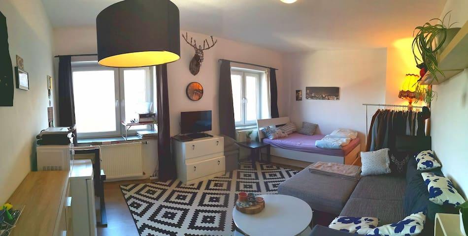 Double room in lovely Ehrelfeld, 28mt2