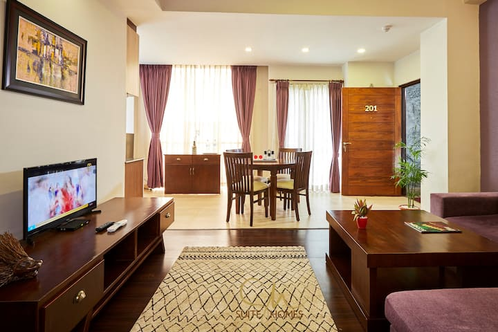 Lively & spacious 1BHK @Patan by Suite Homes