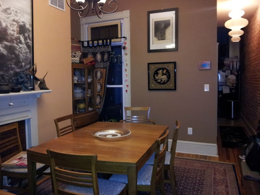 King size suite with private bath houses for rent in for Best private dining rooms in baltimore