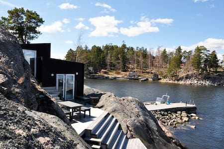 Fabolous Sea Cottage in archipelago - Stockholm - Hytte