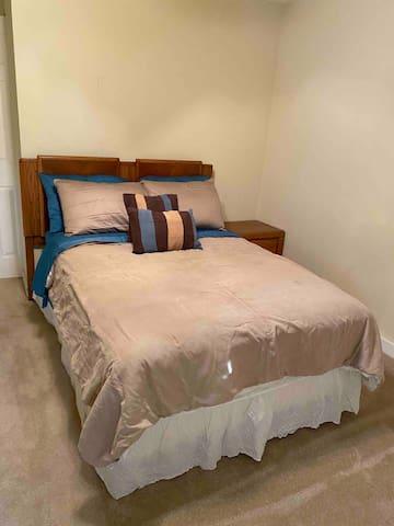 Full size bed in Bedroom #1