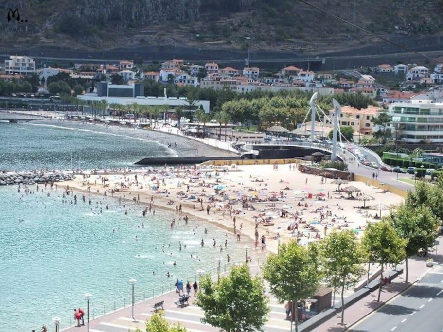 Machico beach
