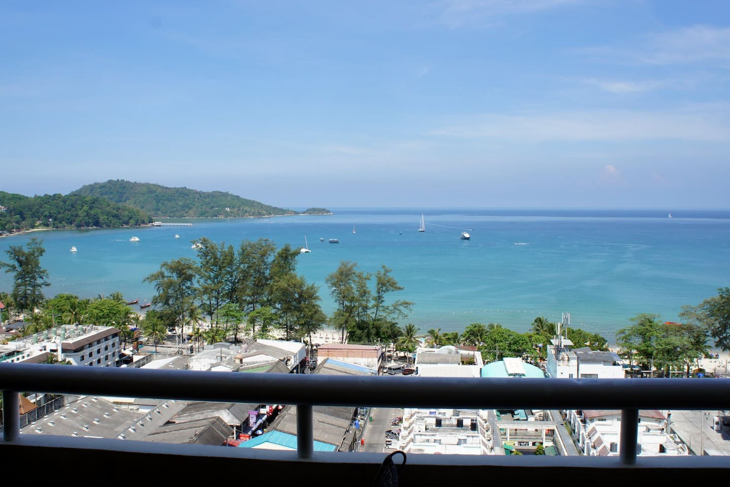2 bedroom Sea view in Patong Tower