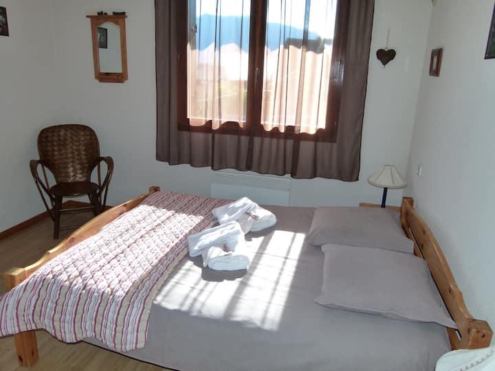 chambre double - balcon -