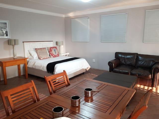 Private apartment.