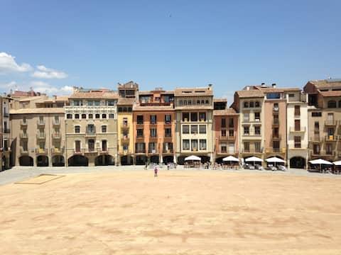Apartaments Vicus 1 con vistas Plaza Mayor de Vic