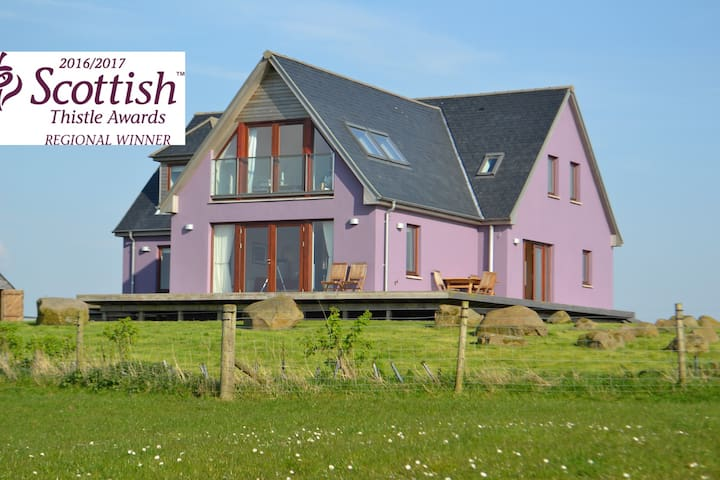 Dundream 5* luxury coastal retreat - Kirkcolm - Hus