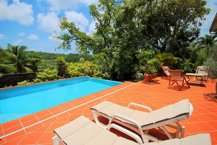 2 bedrooms charming villa with swimming pool (MQSA20)