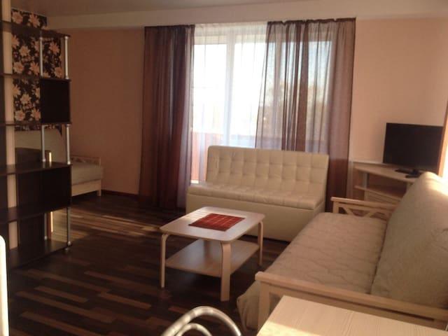 Красивая уютная квартира рядом с рекой Великой - Psków - Apartament
