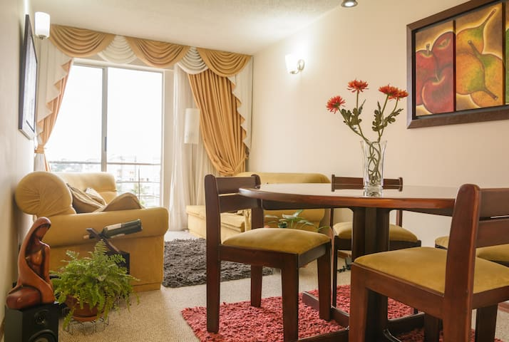 CLOSE TO THE AIRPORT - PEACEFUL PRIVATE ROOM ! - Bogota
