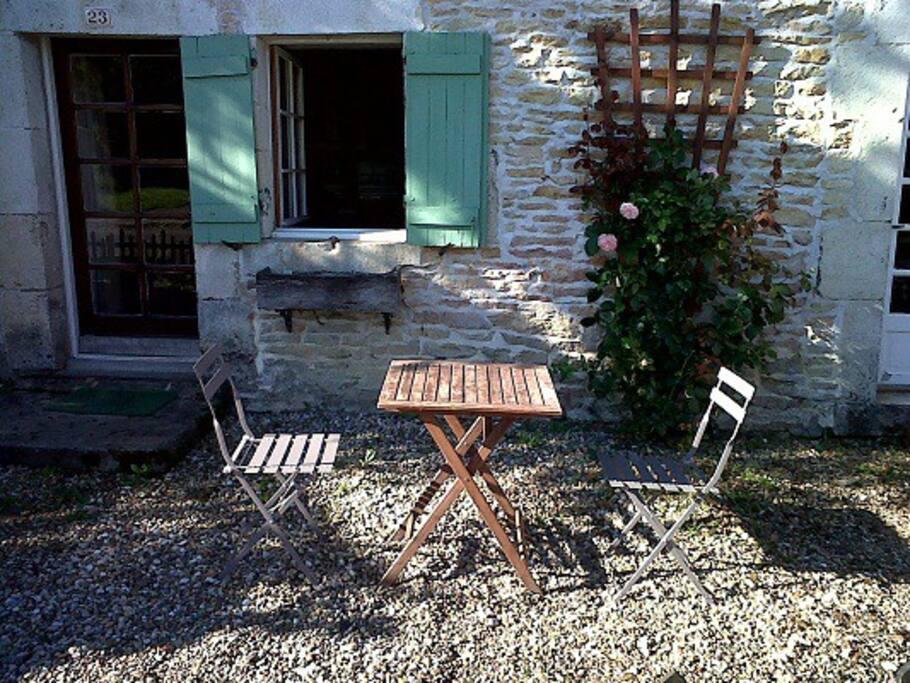 Little garden in front of La Madeleine