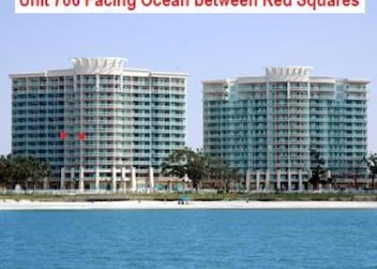 Beautiful Legacy Towers Condo Overlooks the Beach - 格爾夫波特(Gulfport)