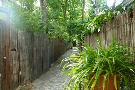 Rare Artist Loft and private garden - Paris