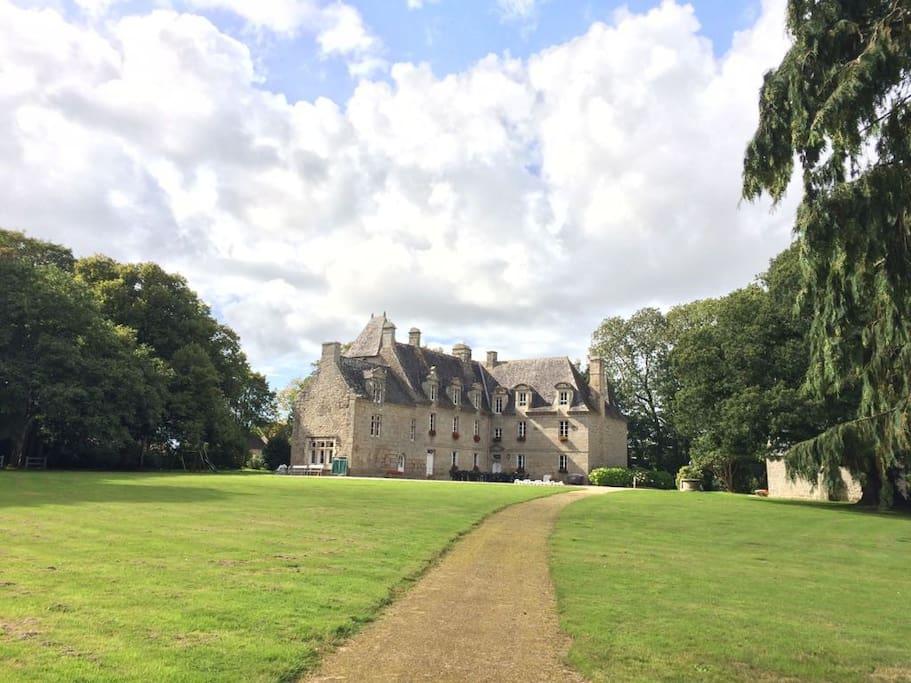 Au coeur de la propriété, manoir du XVIème siècle