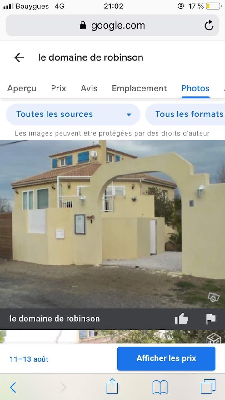 Chambres d'hôtes 4 personnes à 300m de la plage.
