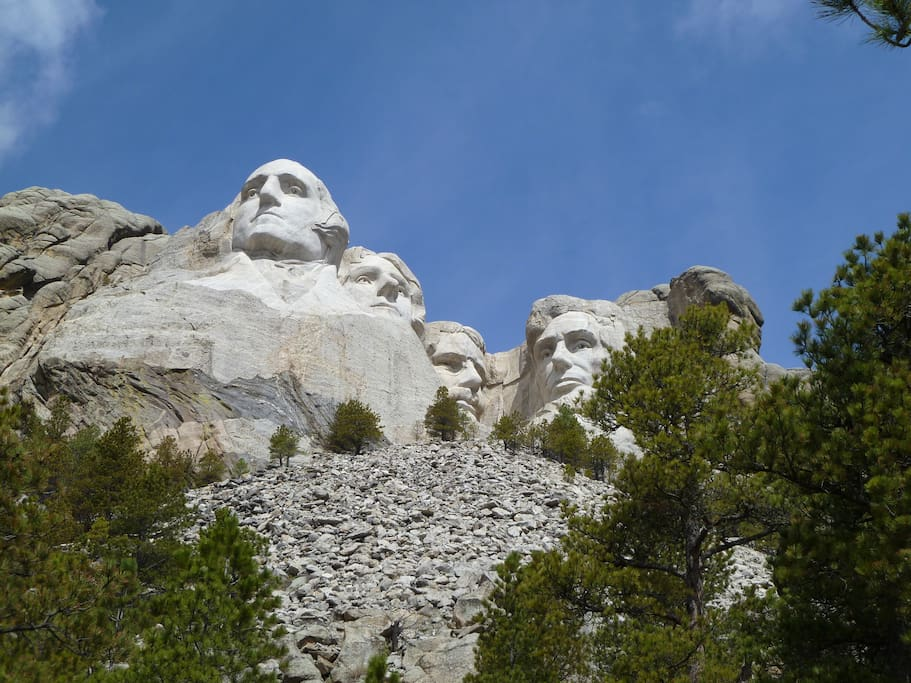 Visit an American icon, Mt. Rushmore... only 20 minutes from White Tail Ridge...