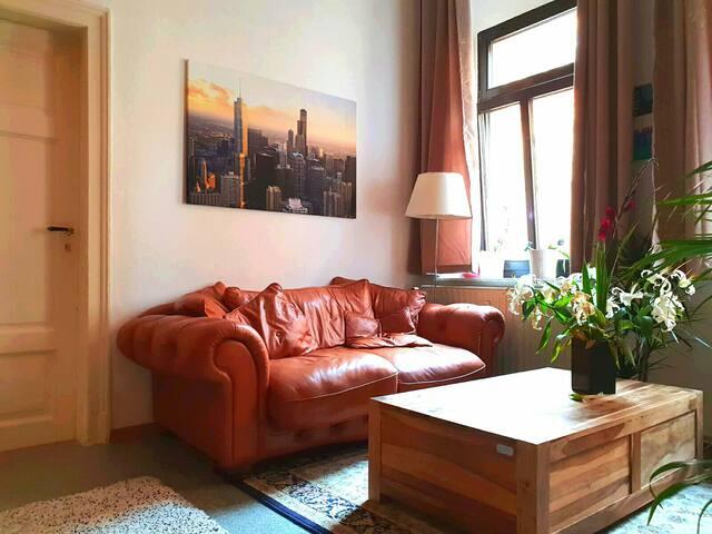 Gemütliche Wohnung inmitten der Neustadt