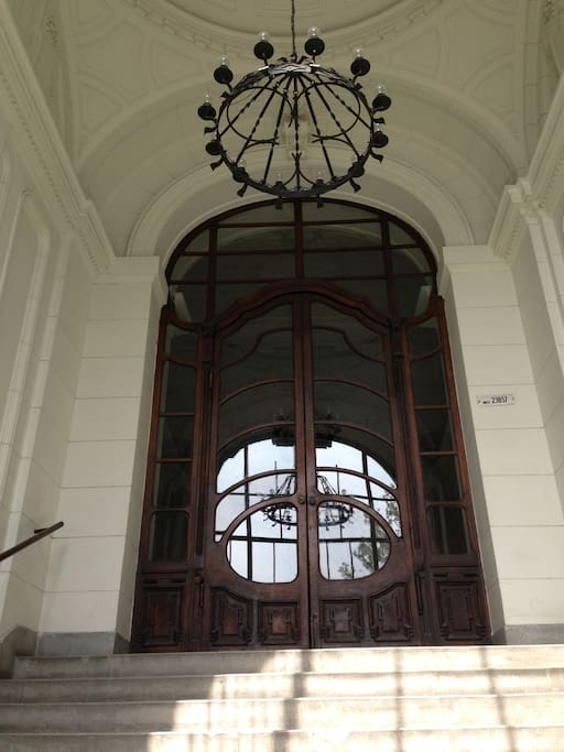 Main Entrance to Building
