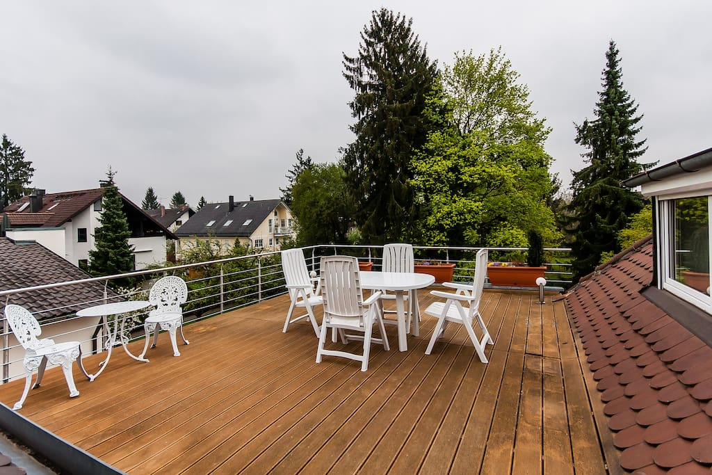 Sunny Apartment w/sundeck in Munich - Apartments for Rent ...
