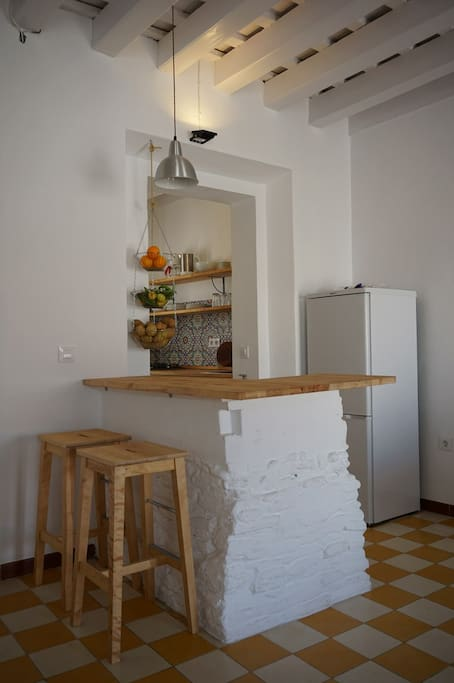 Salón/Cocina - Living room/Kitchen - Wohnzimmer/Küche