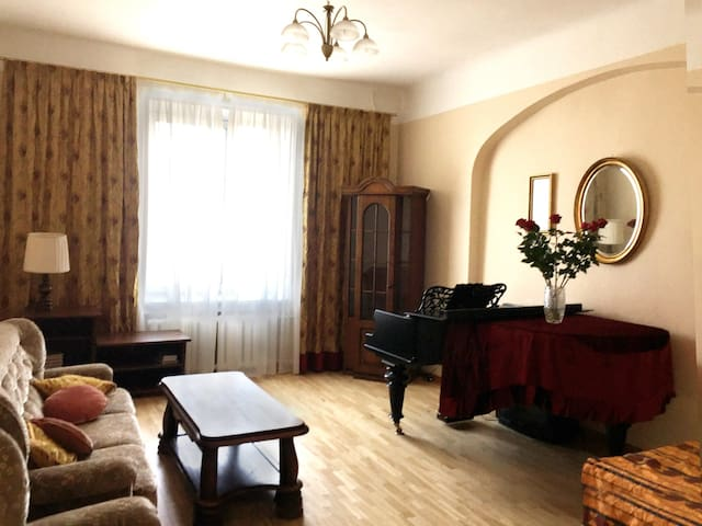 Spacious apartment with great atmosphere