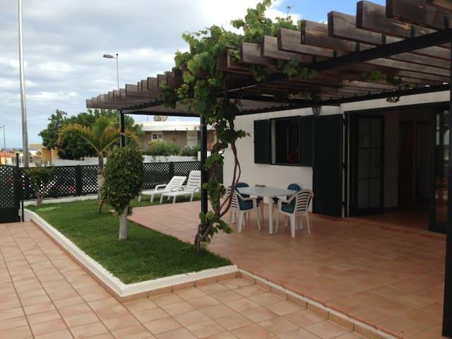 2min walk to beach with big terrace - Maspalomas - Appartamento