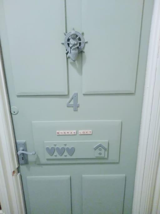 Door into Morrab Loft