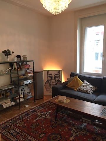 Cosy small room in a shared flat