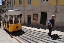 Bica Funicular only 5 minutes walking