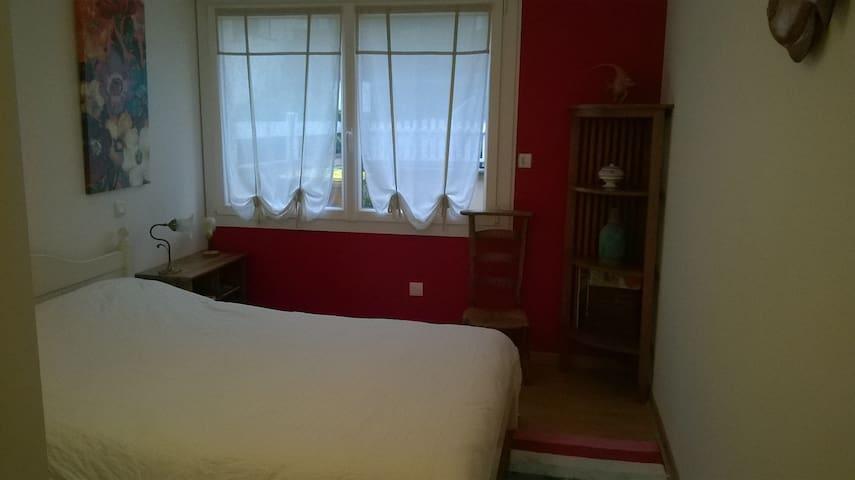 chambre calme, salle de bain privative - Saint-Brieuc - Dům pro hosty