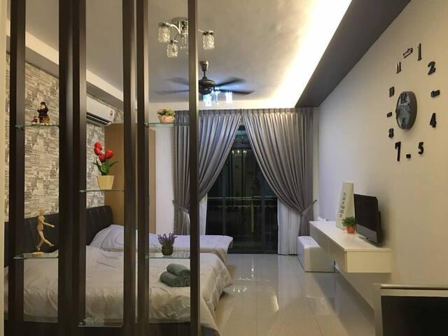 Charming HomeHotel @ D'secret Garden, max pax 3+1