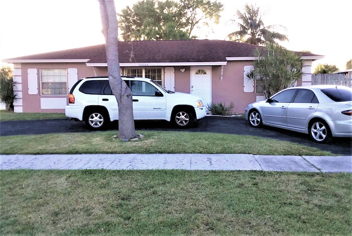 Park on the Driveway.