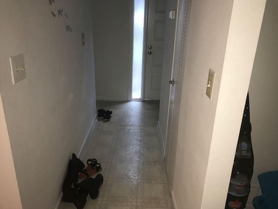 front door hall way